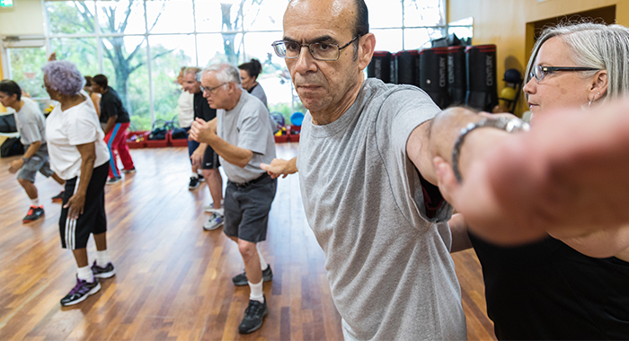 People living with Parkinson's disease (PD) may find moving around does not come as naturally as it once did.